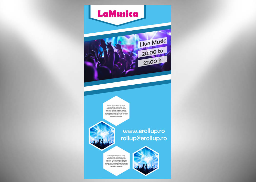 grafica roll-up 100x200