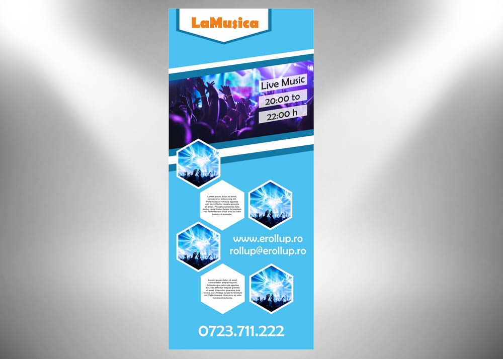 grafica roll-up 85x200